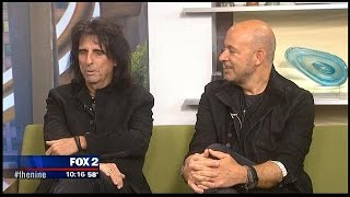 Alice Cooper and John Varvatos drop by FOX 2 studios to talk music & Detroit