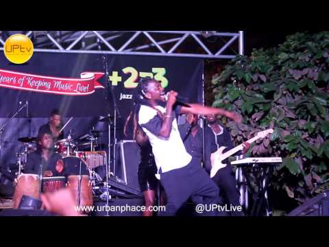 Samini performance at Breaking News album launch