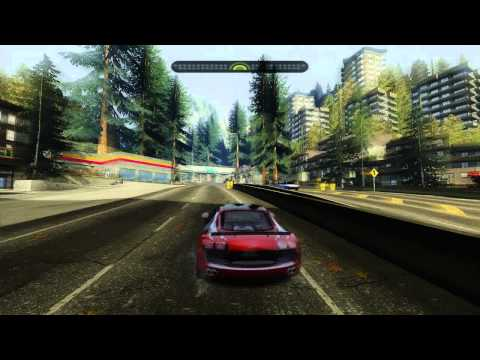 NFS Most Wanted [HD] Audi Le Mans Quattro & Shelby GT500 Supersnake  w/ Modern Rockport + ENB 2012