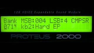 E-mu Proteus 2000 'Composer' Rom Presets Part 1