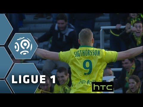 Goal Kolbeinn SIGTHORSSON (77') / FC Nantes - AS Saint-Etienne (2-1)/ 2015-16