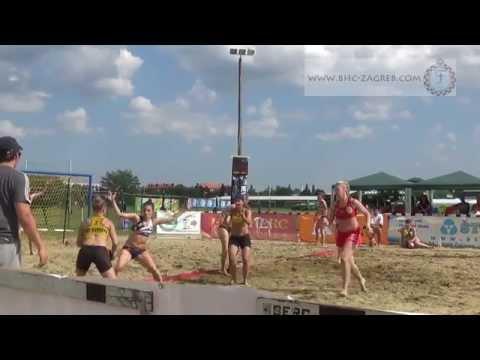 2014 game Cakovec open w2 1 Chemo profili Zagreb BHC Dubrava