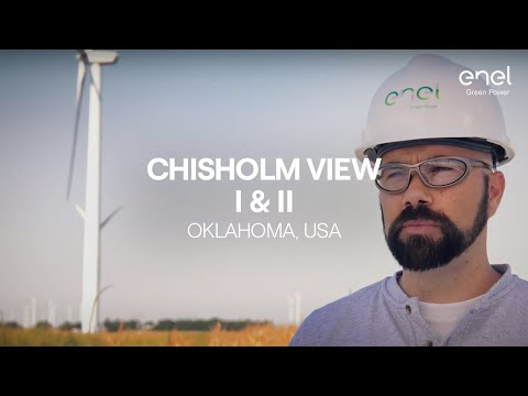 Enel Green Power's plant in the world: Chisholm View I and II in Oklahoma (USA)
