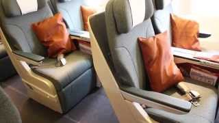 Cathay Pacific Regional Business Class - a short video 國泰航空區性商務客艙