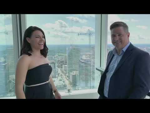 Live At Edmonton's Tallest Address - Above The YEG Skyline!