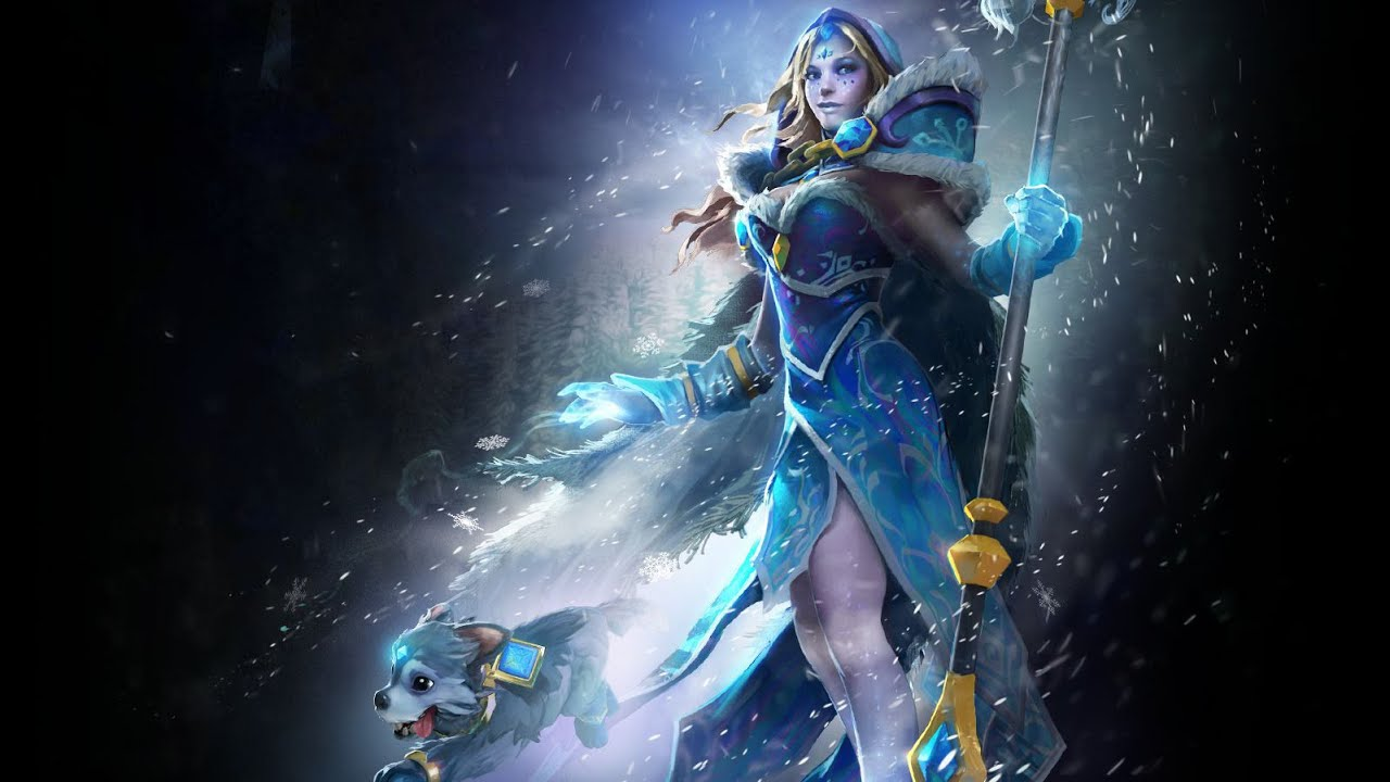 Crystal Maiden Dota 2 Immortals: Arcana For Crystal Maiden