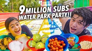 9 MILLION SUBS WATER PARK PARTY!!! (Reminisce!!) | Ranz and NianA