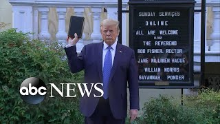 Backlash over President Trump's church photo op | WNT