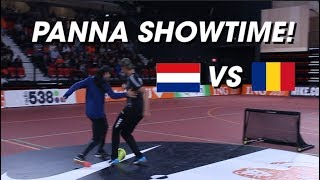 Futsal Panna Showtime Netherlands VS Romania Day 2 - Panna Day Job 11