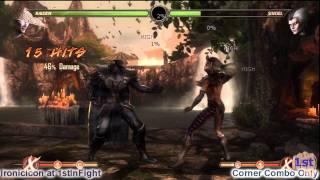 Download Video Mortal Kombat 9 Raiden Combos Raiden MK9 Tutorial MP3 3GP MP4