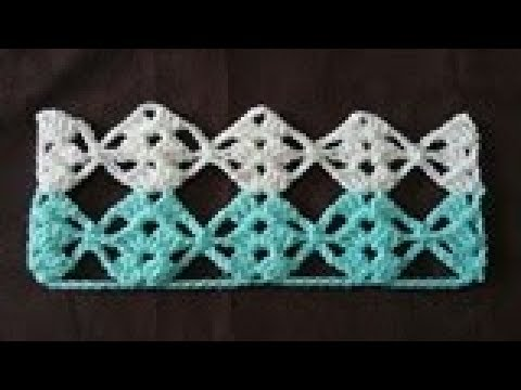 Tuto Crochet Point Decharpe Crocheteu