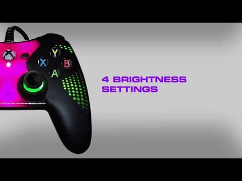 Review on Fusion A glow in dark controller!