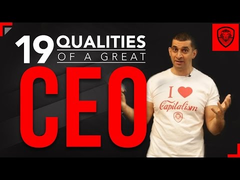 19 Qualities of a Great CEO