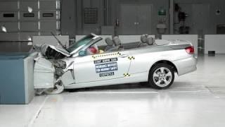 Video 2007 BMW 3 series convertible moderate overlap IIHS crash test download MP3, 3GP, MP4, WEBM, AVI, FLV April 2018