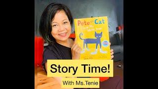 Pete the cat: I love my white shoes Story time