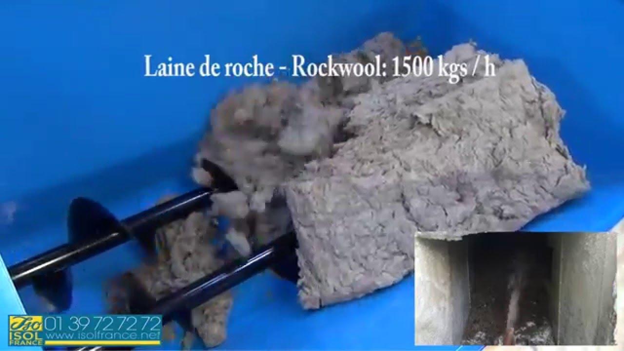 Isolfrance  Iso 300  Video  Soufflage Laine De Roche