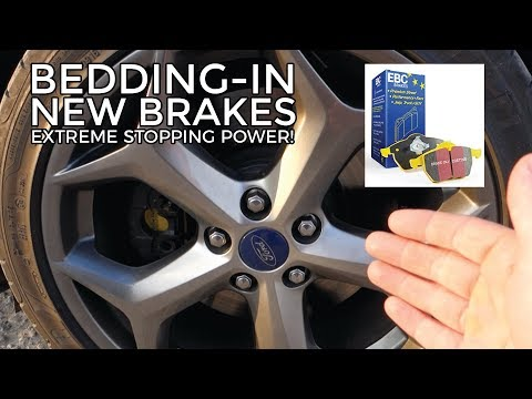Bedding In New EBC Yellow Stuff Brake Pads