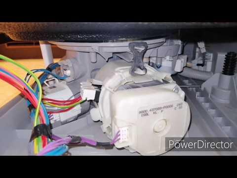 Посудомоечная машина Bosch горит кран, гудит помпа.