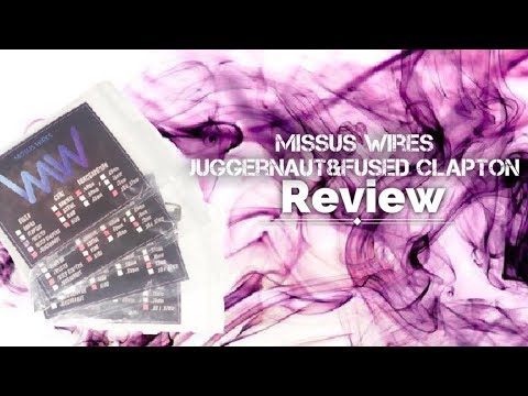 Missus Wires - Juggernaut & Fused Clapton Review - YouTube
