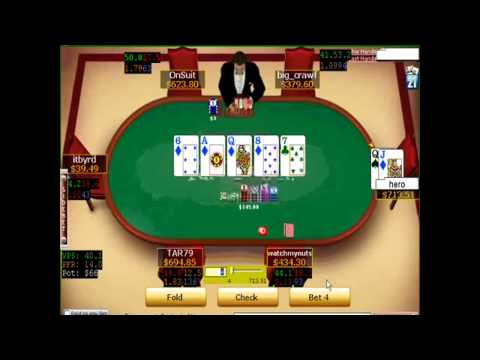 TUFF FISH POKER - Folding 2nd NUTs