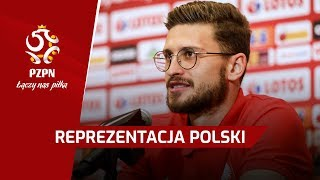 Konferencja prasowa | Kamil Glik, Mateusz Klich