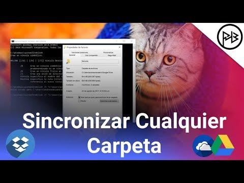 Como Sincronizar cualquier carpeta con Dropbox, Google Drive, Onedrive en PC
