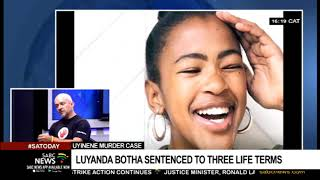 Reaction to sentencing in the Mrwetyana case