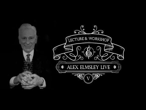 Alex Elmsley Lecture