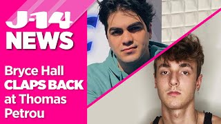 TikTok's Bryce Hall Responds After Thomas Petrou Slams His YouTube Channel
