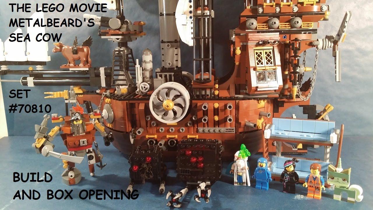 Lego Movie Metalbeard S Sea Cow 70810 Build And Box Opening Youtube