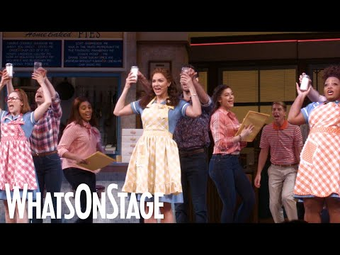 """Waitress in the West End   """"Bad Idea"""", """"A Soft Place to Land"""" and """"Opening Up (finale)"""" performances"""