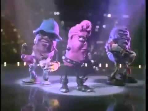 California Raisins Commercial.♥ I Heard it Through The Grapevine- Michael Jackson ♥
