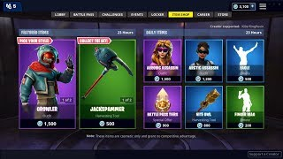 NEW ANIMAL SKINS IN FORTNITE ITEM SHOP