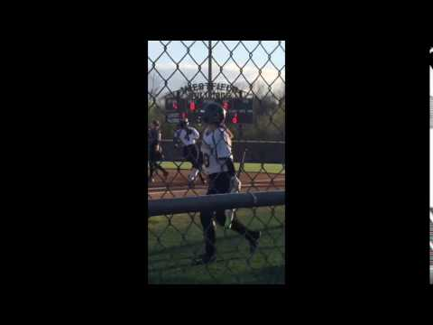 Grace Drury (2019) HR vs Chantilly @ Westfield HS 4.8.16