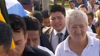 Entierro Carlos Rubira Infante