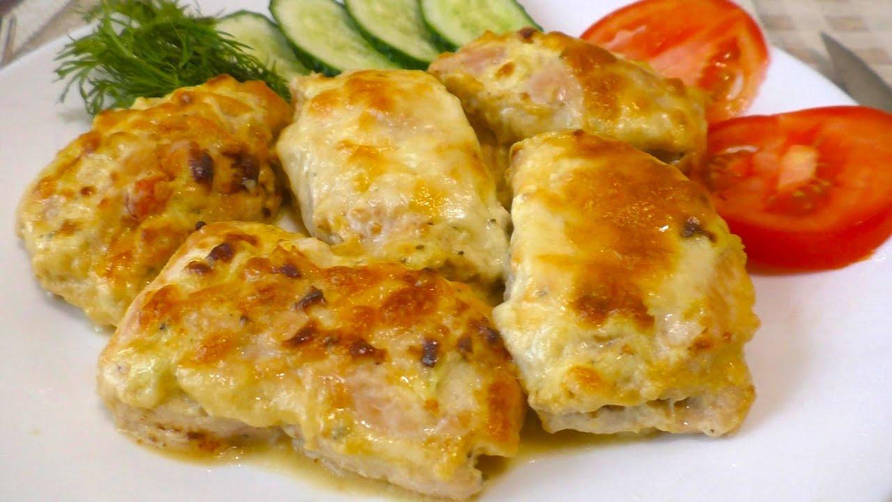 КУРИНЫЕ РУЛЕТИКИ Невероятно вкусный  и быстрый рецепт куриного филе в духовке Вкусный ужин