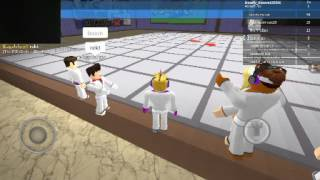 Martial Arts in roblox