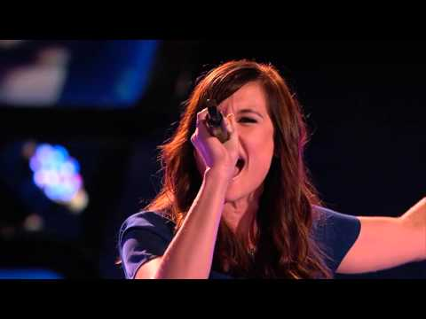 The Voice USA - Blind Audition - Ashley Morgan - I Wanna Dance with Somebody Who Loves Me  2015