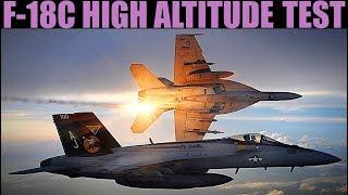 FA-18C Hornet | Early Access | Testing Max Altitude | DCS WORLD