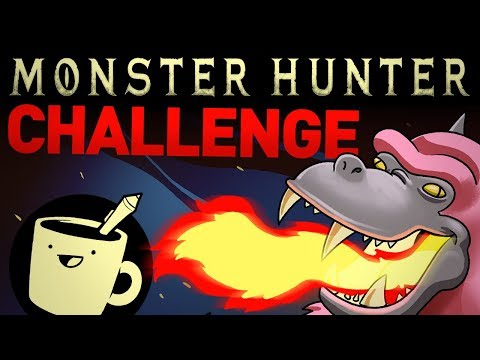 Artists Draw Monster Hunter Monsters (ft. TheOdd1sOut)