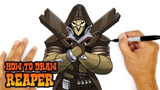 How to Draw Reaper | Overwatch