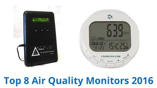 8 Best Air Quality Monitors 2016
