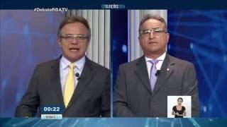 Debate RBA TV 1º bloco, em 20 de setembro de 2016.