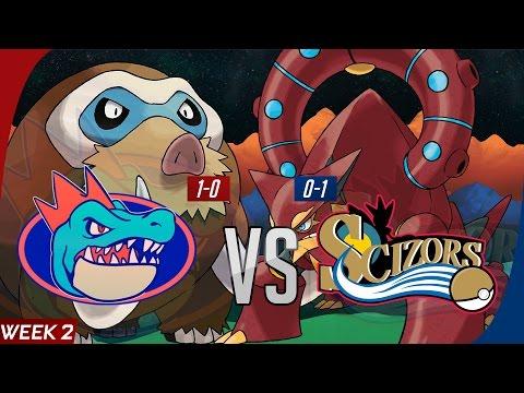 Pokemon GBA S7 Wk2 Wi-Fi Battle: Florida Gatrs vs Philadelphia Scizors
