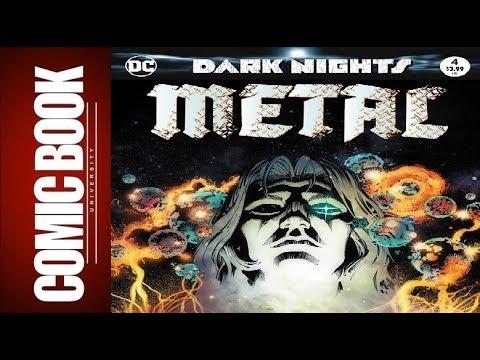 Dark Nights Metal #4 | COMIC BOOK UNIVERSITY