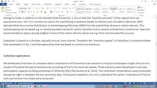 CarboScen Tutorial: Transition Speed Data (Part 7 of 8)