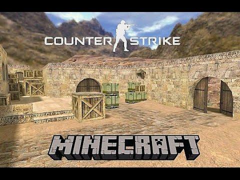 Minecraft мини игры Counter-Strike(Теперь все официально)