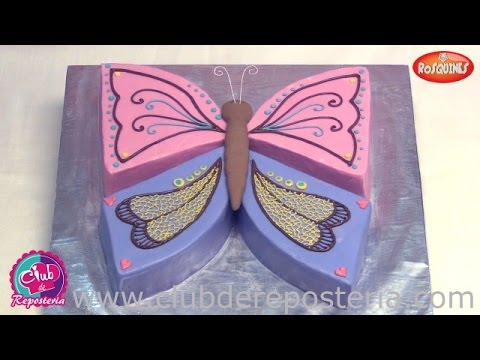 Mariposa Birthday Cake