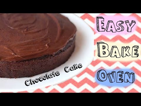 Easy Bake Oven Chocolate Cake! ((all From Scratch))
