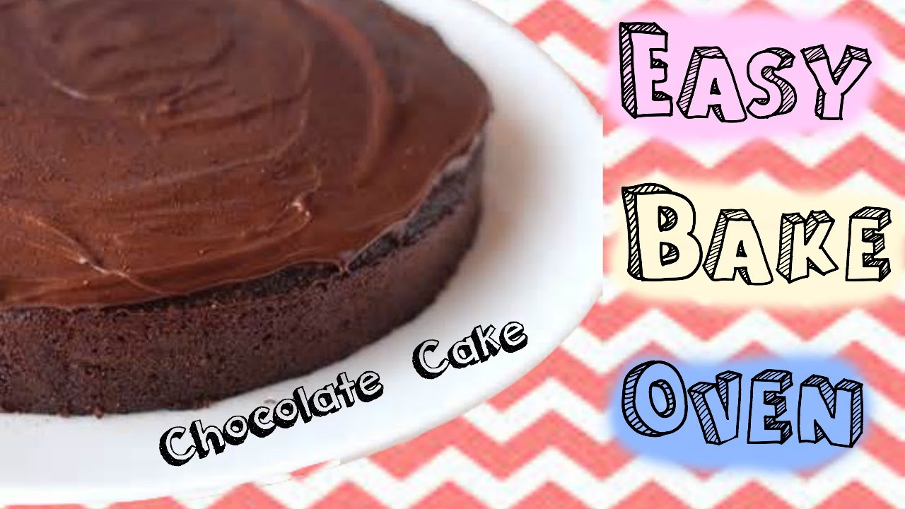 Easy Bake Oven Chocolate Cake all from scratch YouTube